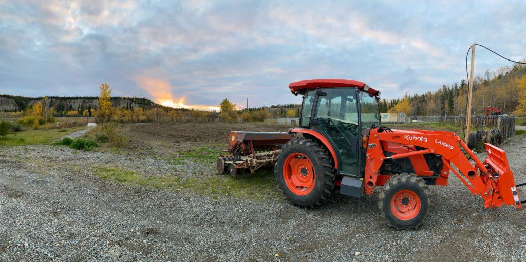 ArcticPharm Tractor